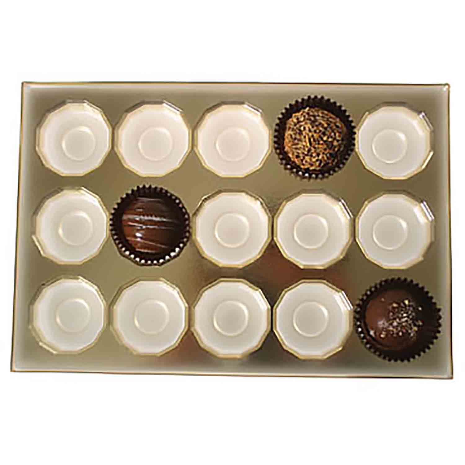 1 lb. Box Insert- #5 cup, 15 cavity
