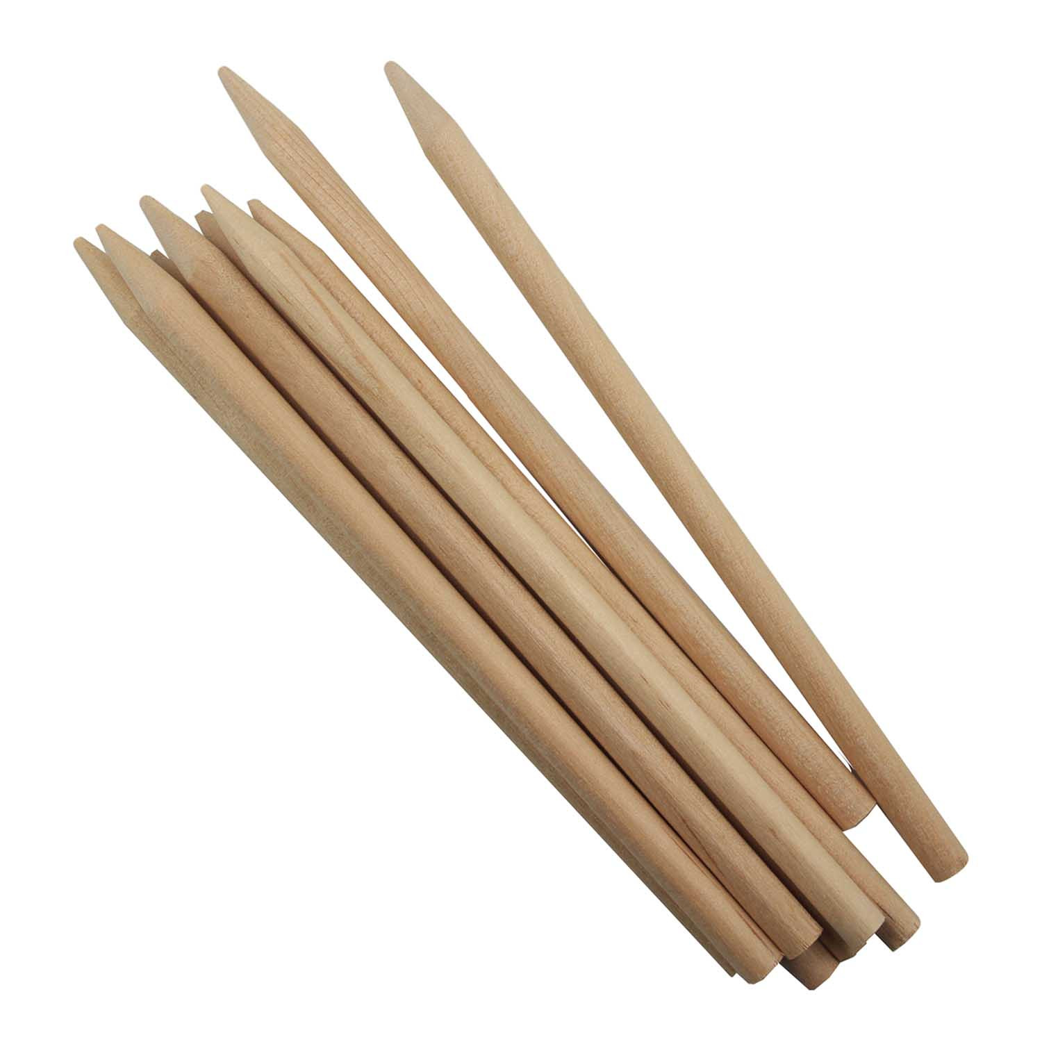 Wooden Candy Apple Sticks 7""