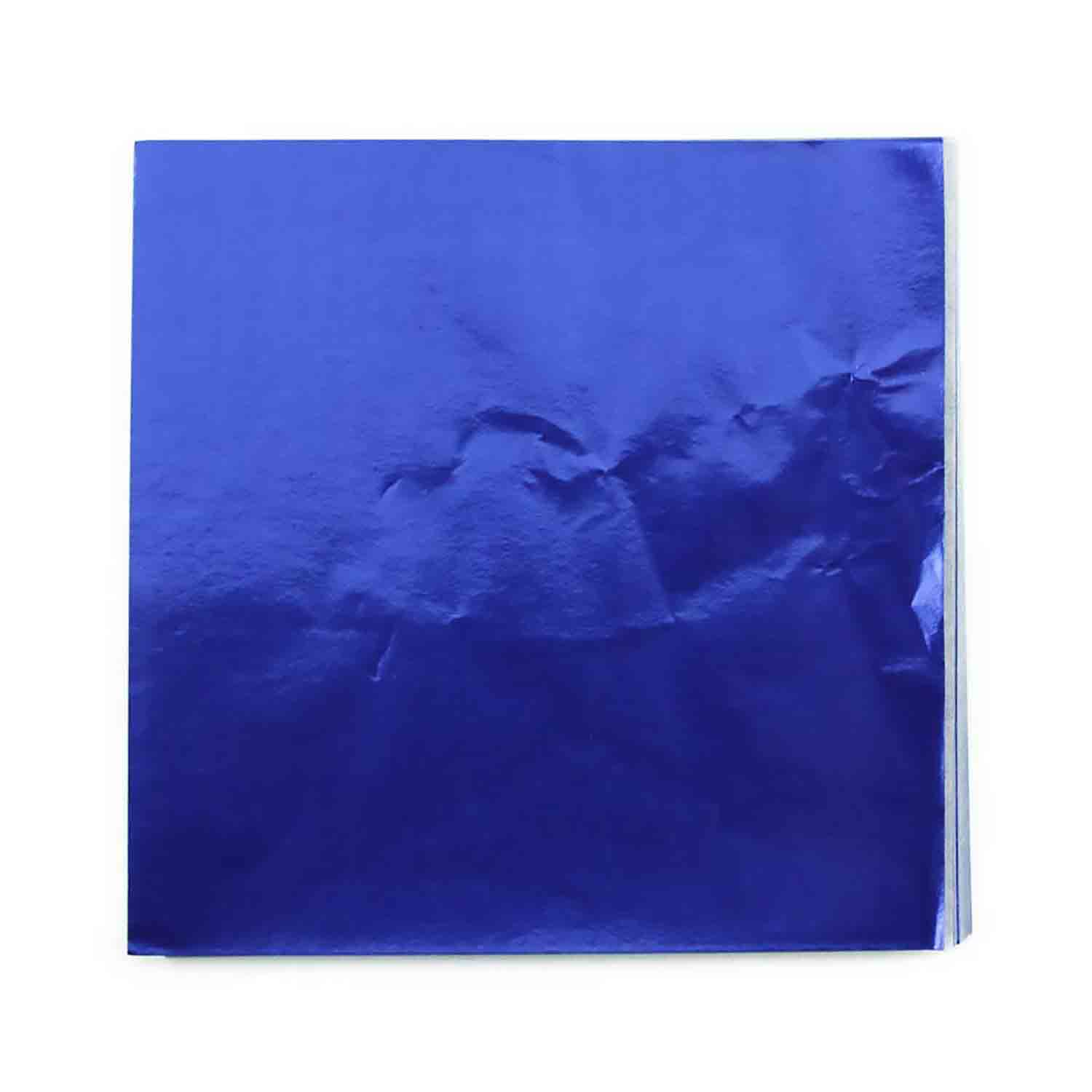 "3 x 3"" Foil Wrapper Dark Blue"