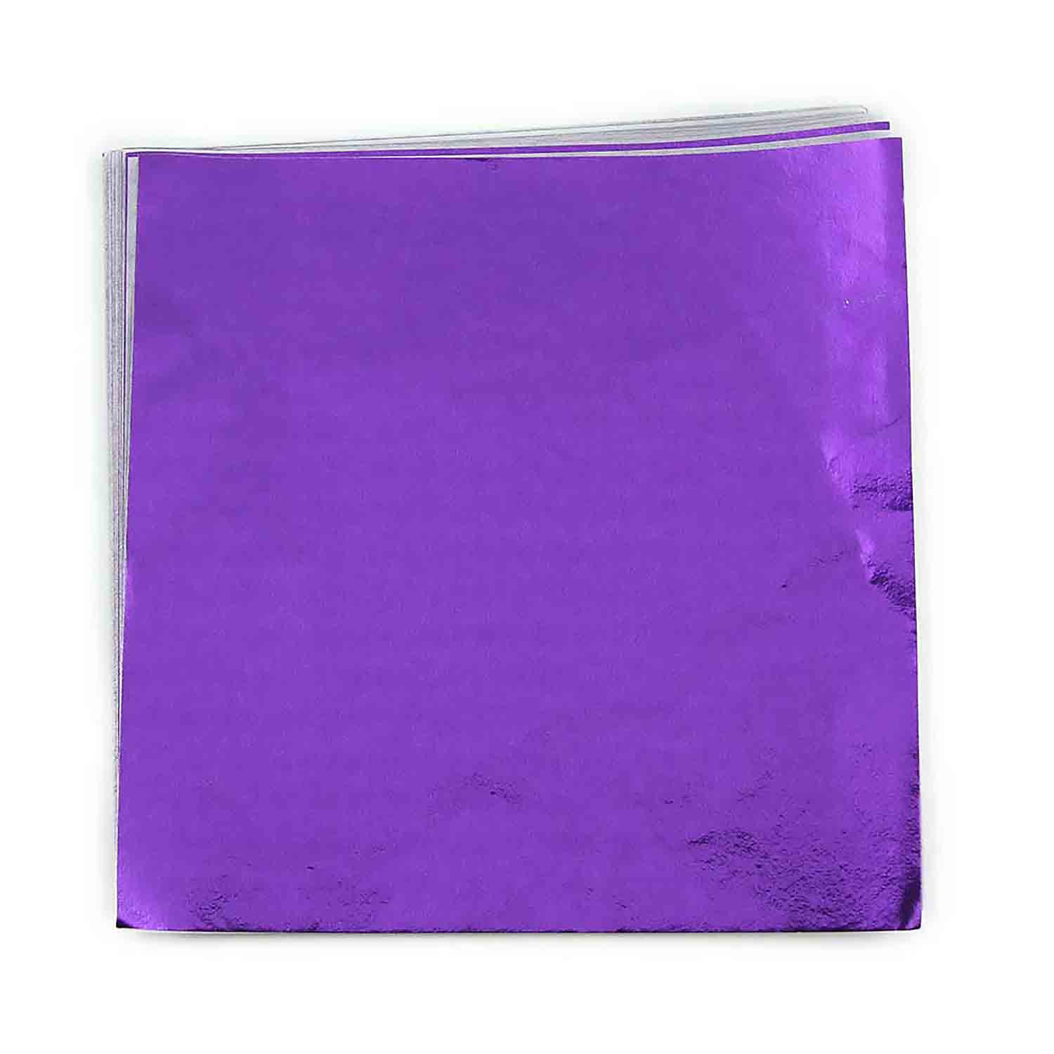 "3 x 3"" Foil Wrapper Purple"