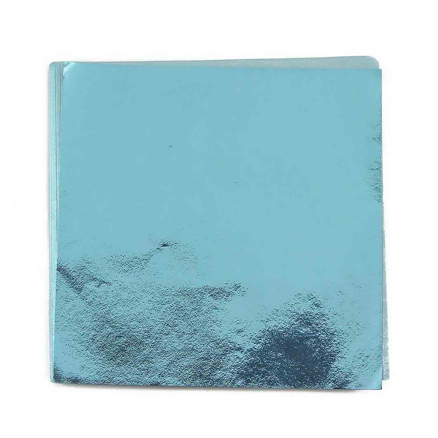"4 x 4"" Foil Wrapper Blue"