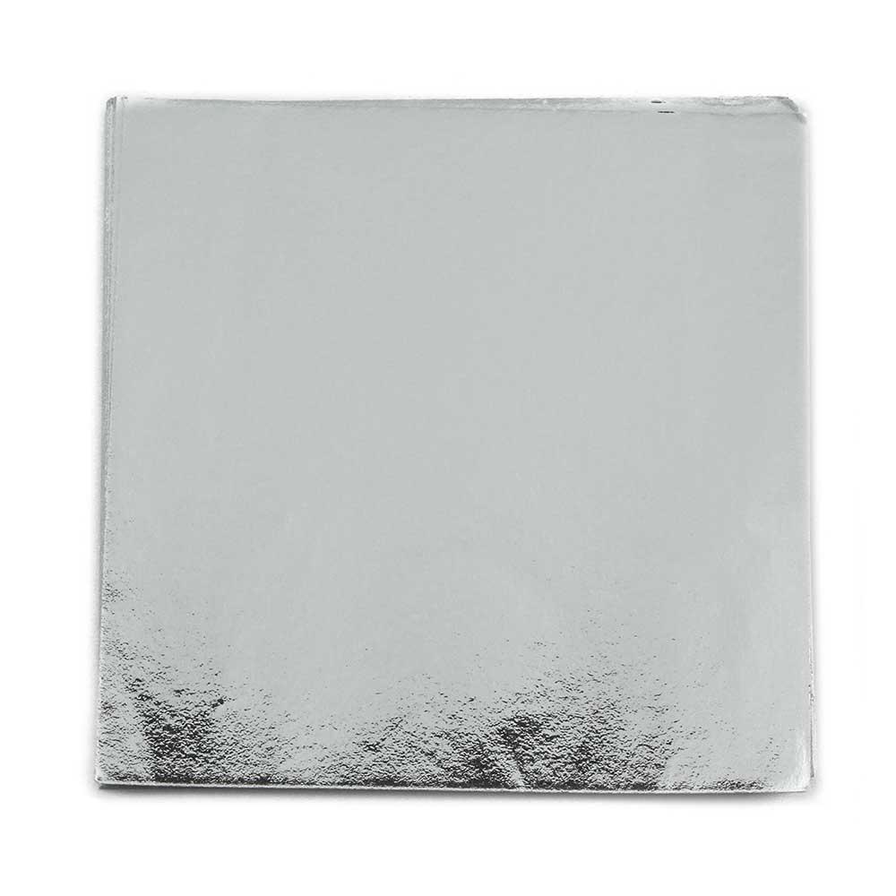 """4 x 4"""" Foil Wrapper Silver"""