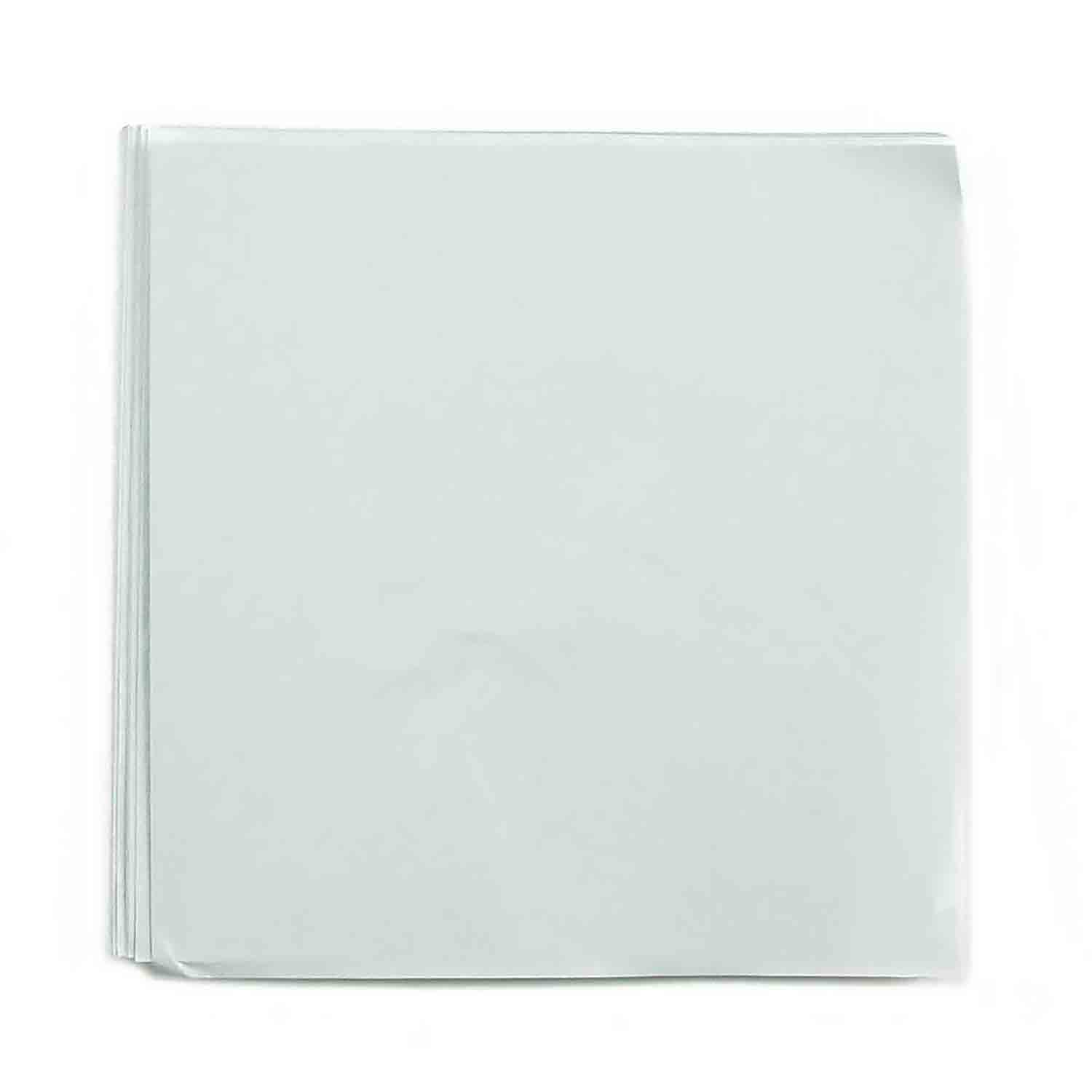 "4 x 4"" Foil Wrapper White"