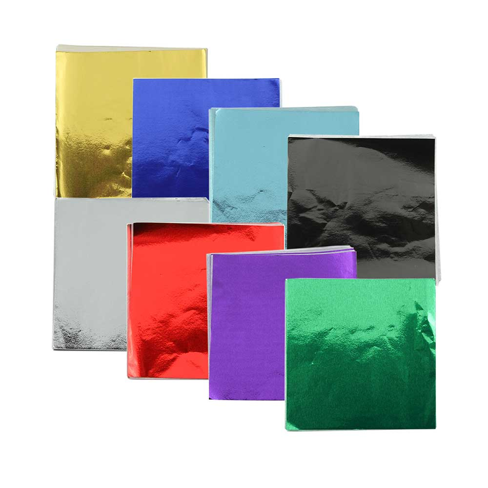 "3 x 3"" Foil Wrapper Assorted"