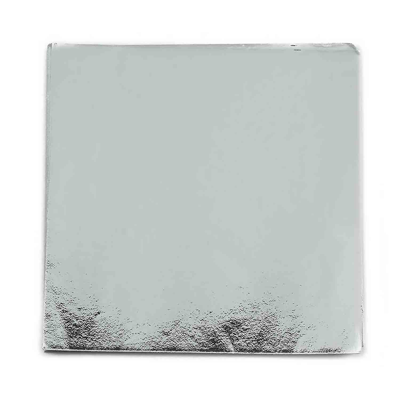 """3 x 3"""" Foil Wrapper Silver"""