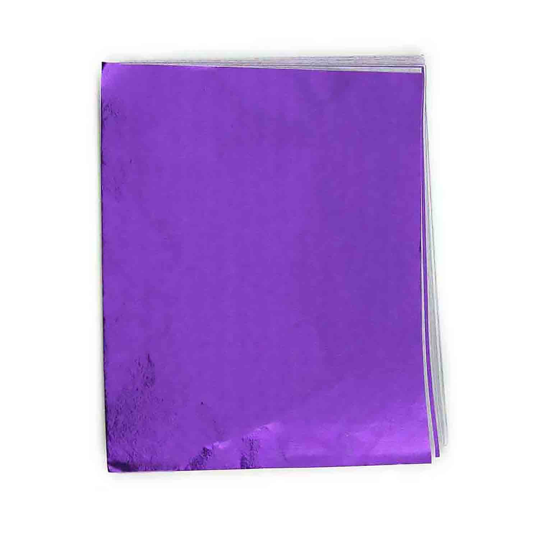 """3 x 4"""" Foil Wrapper Purple"""