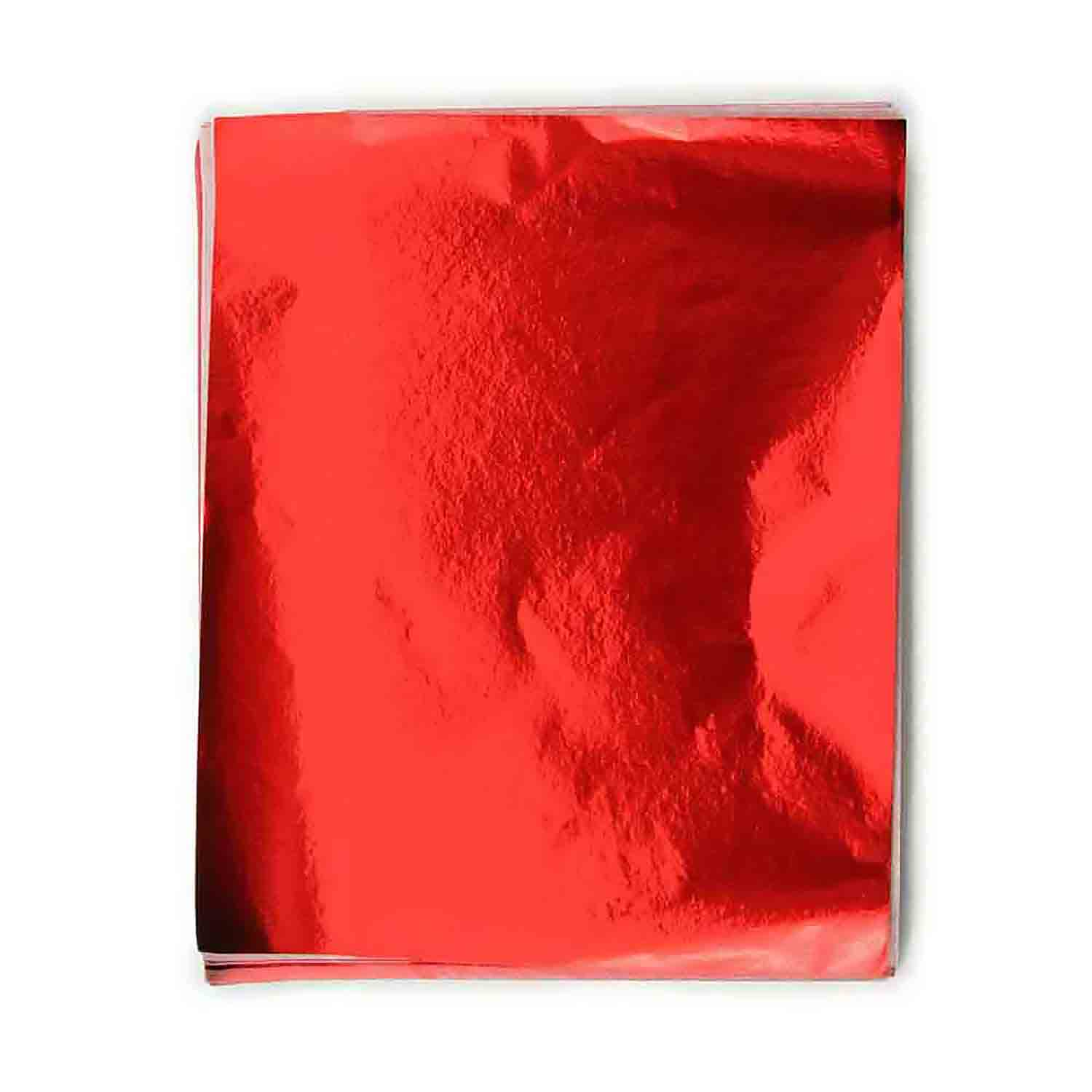 "3 x 4"" Foil Wrapper Red"