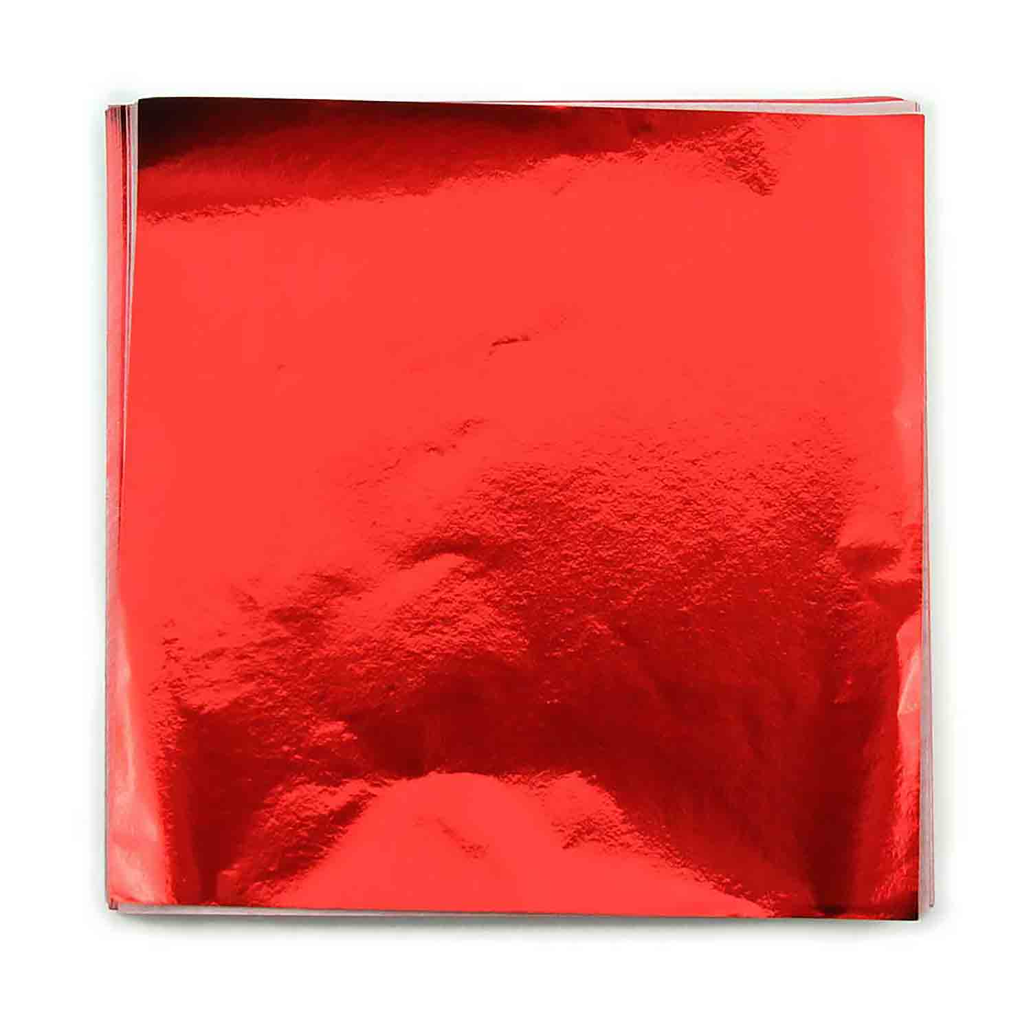"4 x 4"" Foil Wrapper Red"