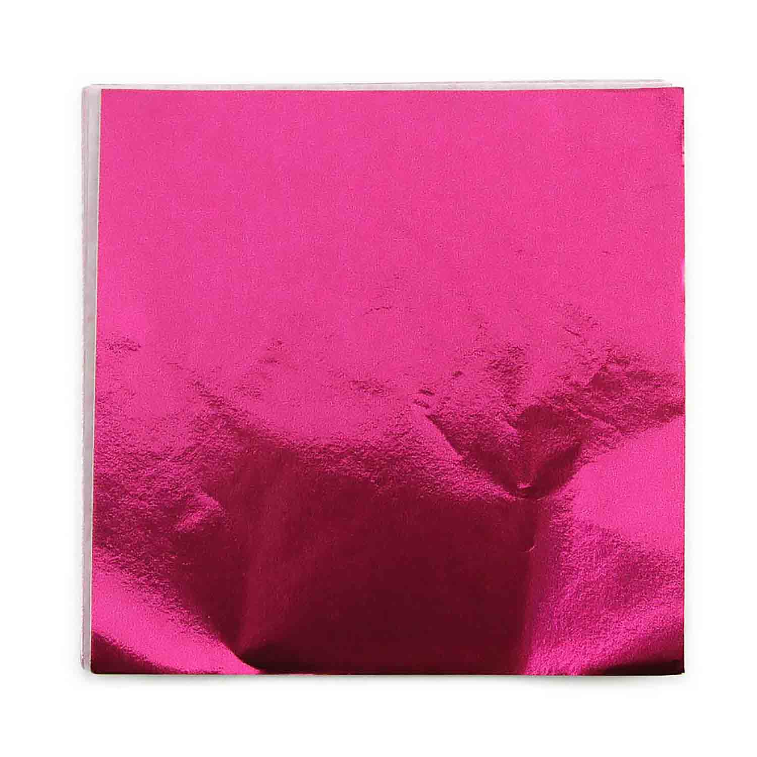 "4 x 4"" Foil Wrapper Wild Berry"