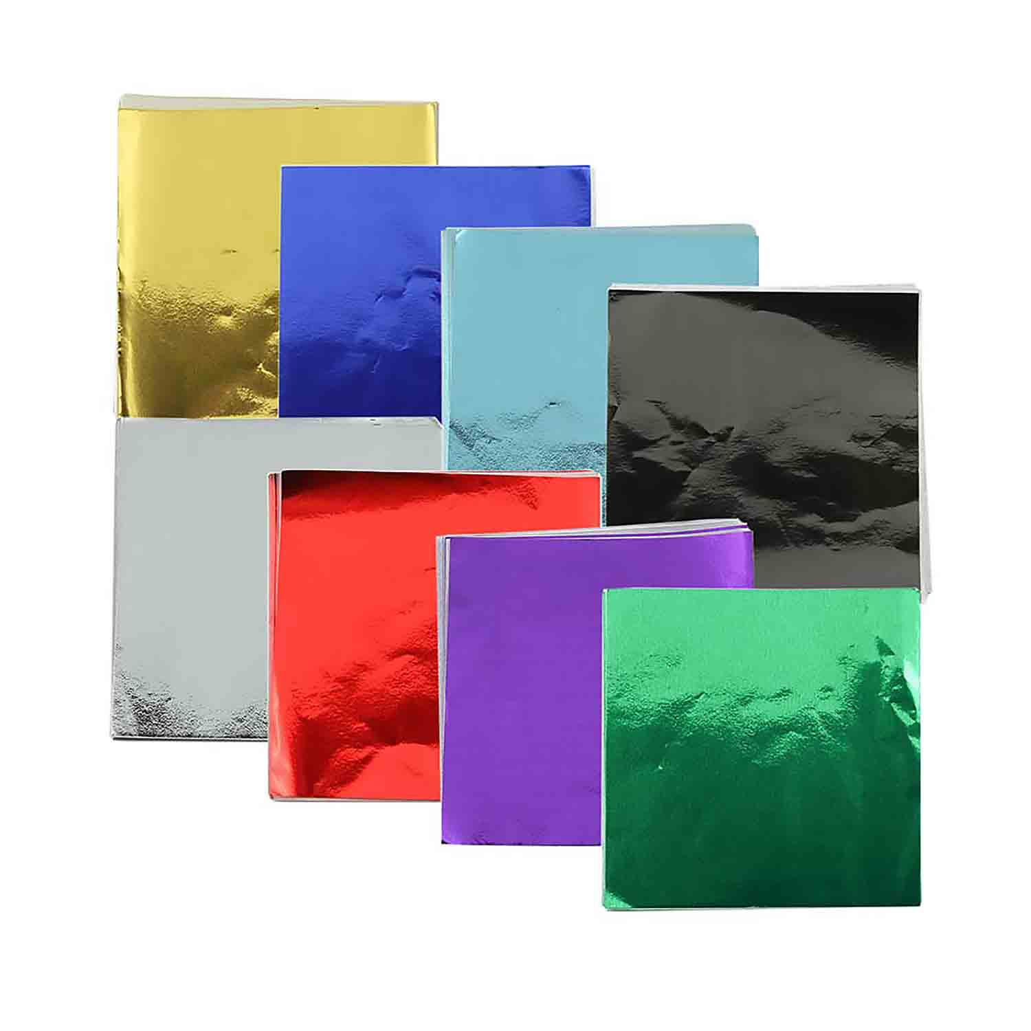 "6 x 6"" Foil Wrapper Assorted"