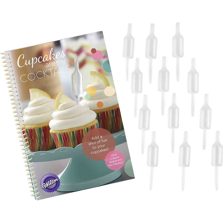 Shot Top Flavor Infuser and Recipe Book Set