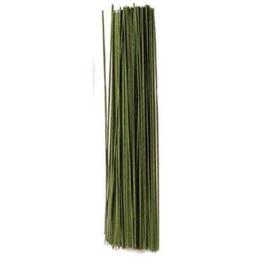 """18 Gauge 12"""" Green Wire"""