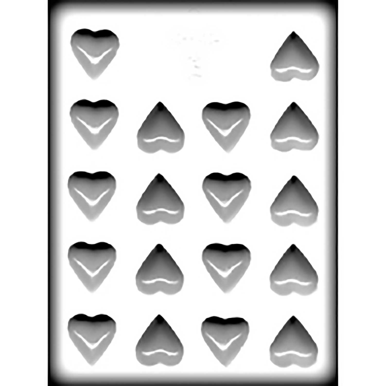 Hard Candy/Cookie Mold-Plain Heart