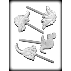 Hard Candy/Cookie Mold-Dinosaur Sucker
