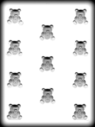 Hard Candy/Cookie Mold-Baby Bears