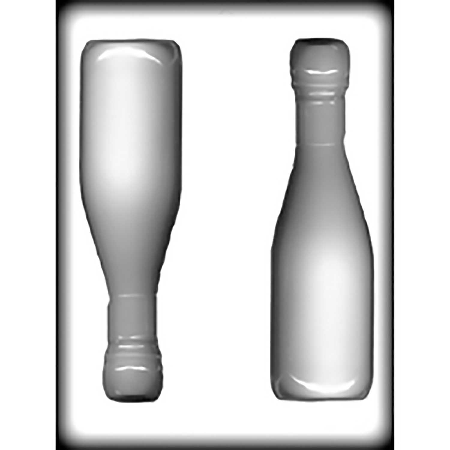 Champagne Bottle Hard Candy/Cookie Mold