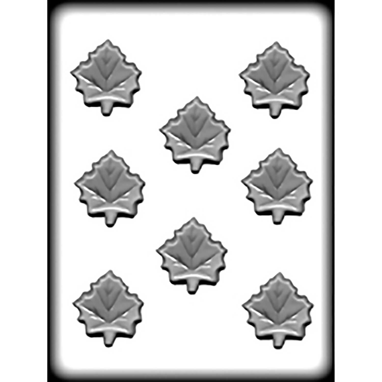 Hard Candy/Cookie Mold-Maple Leaf