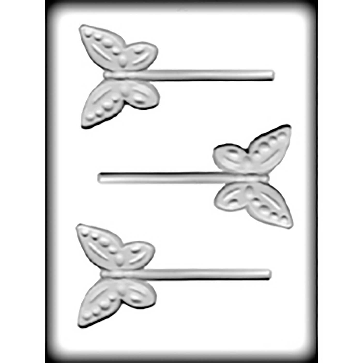 Hard Candy/Cookie Mold-Butterfly Sucker