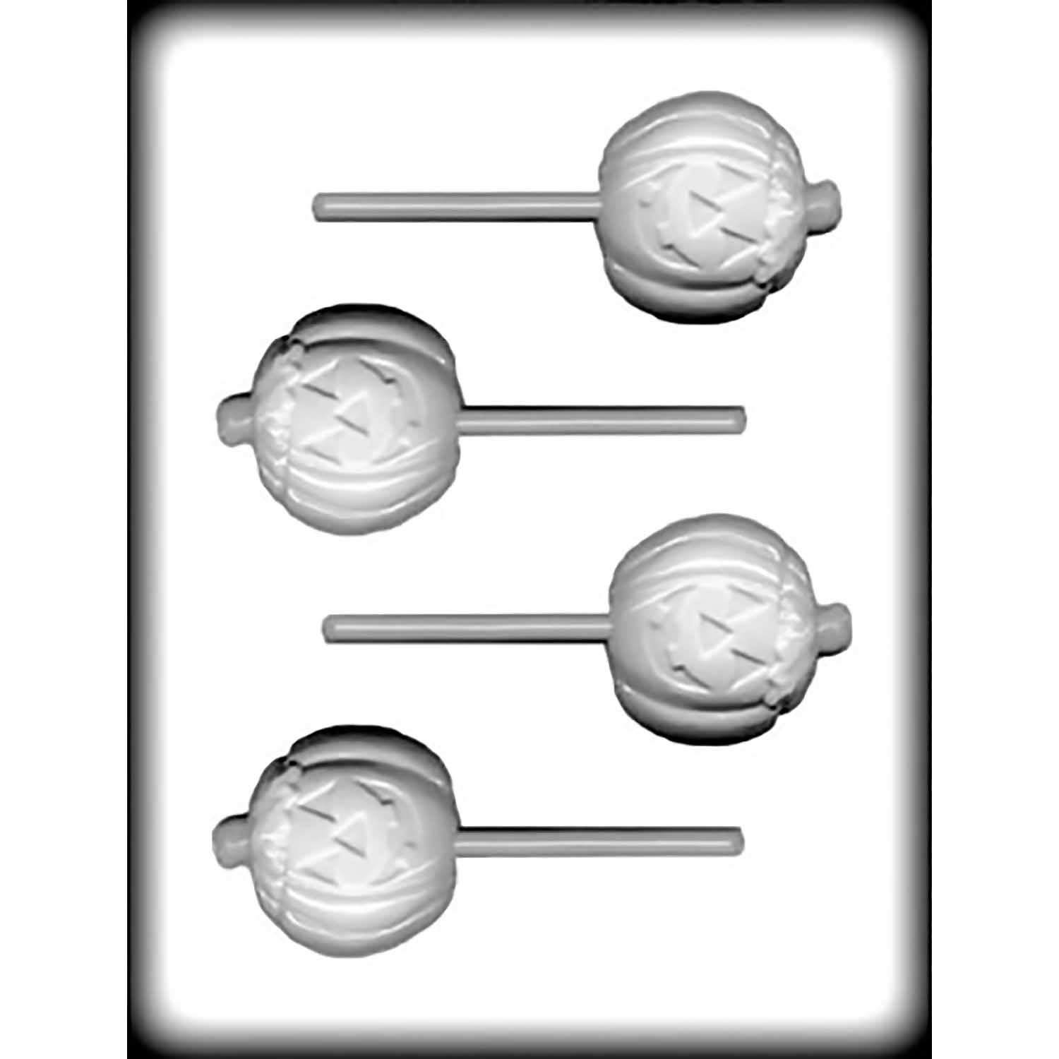 Hard Candy Mold-Pumpkin Sucker
