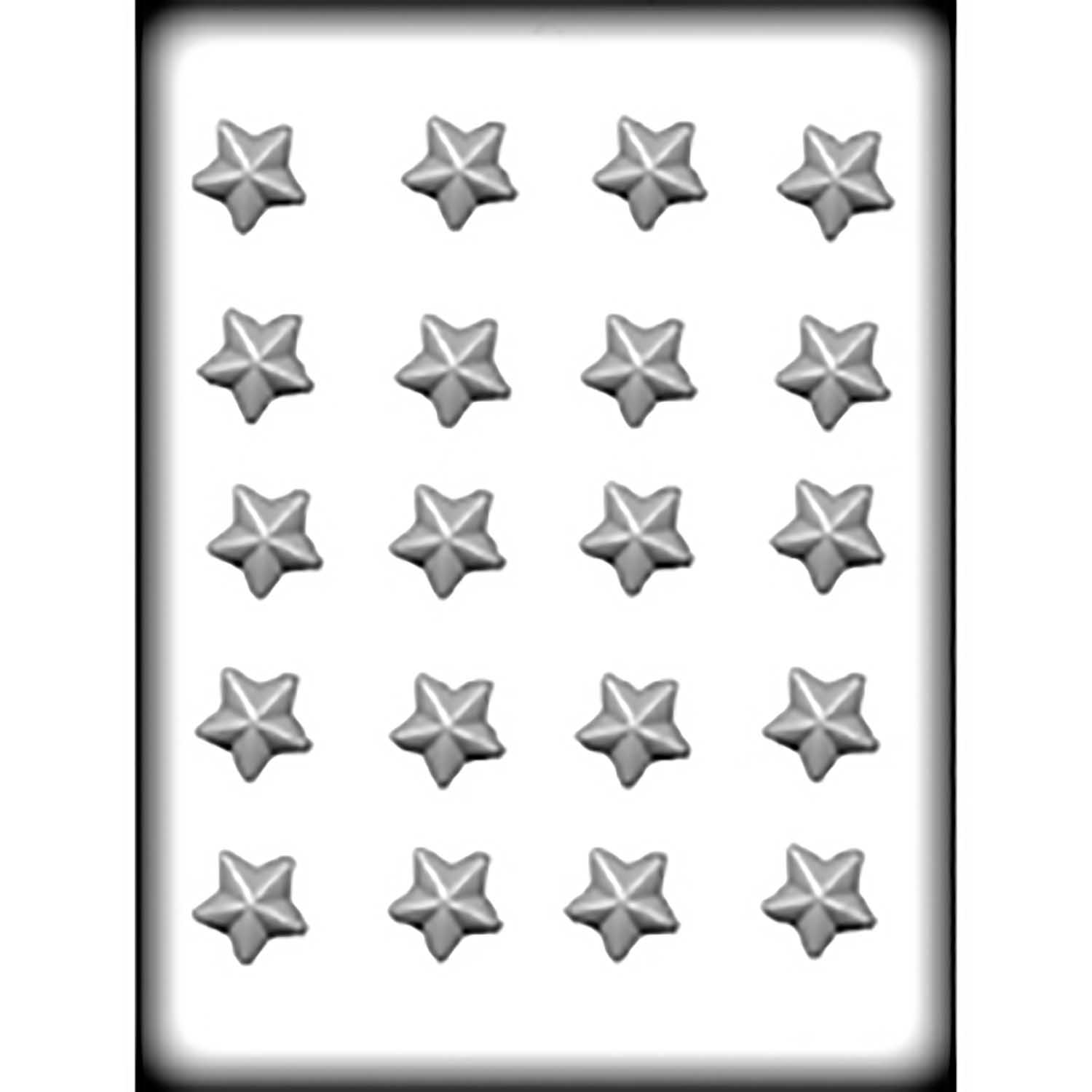 Hard Candy/Cookie Mold-Stars