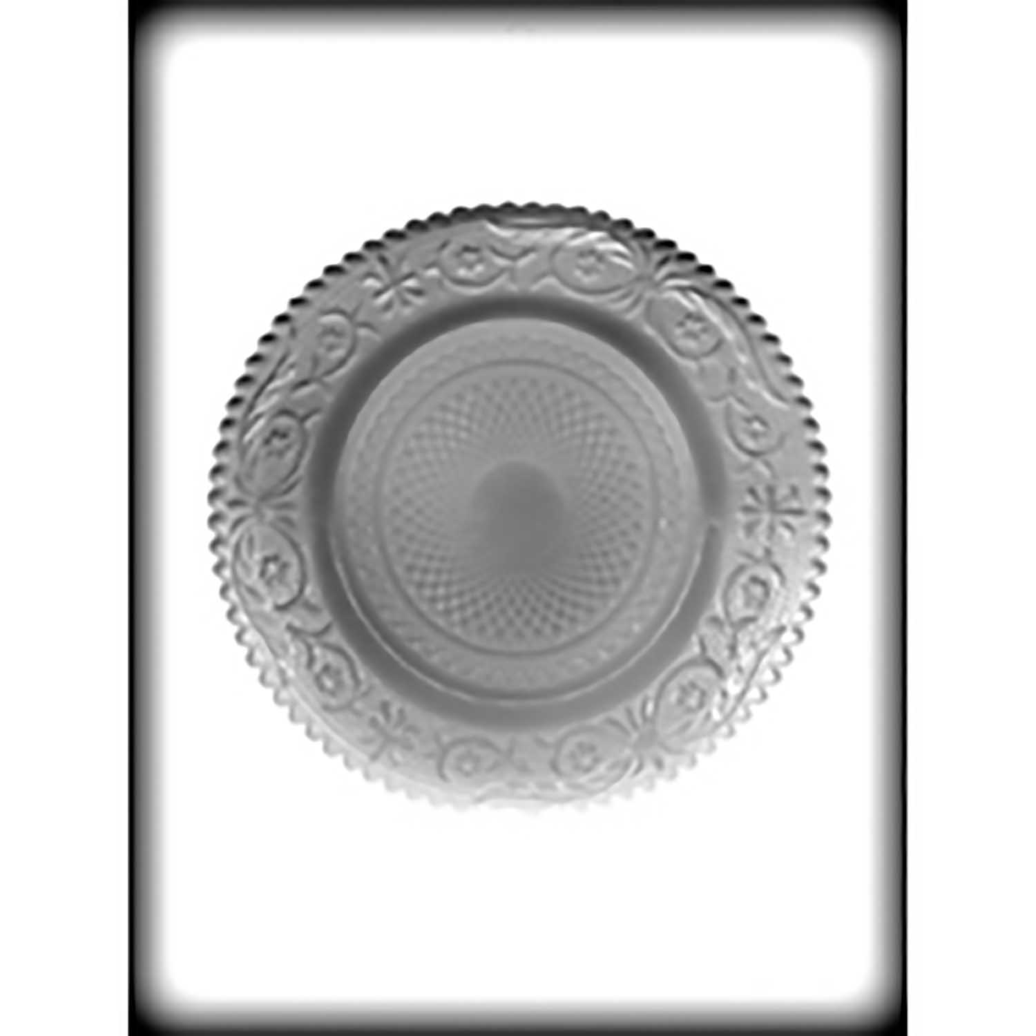 Hard Candy/Cookie Mold - Fancy Dish