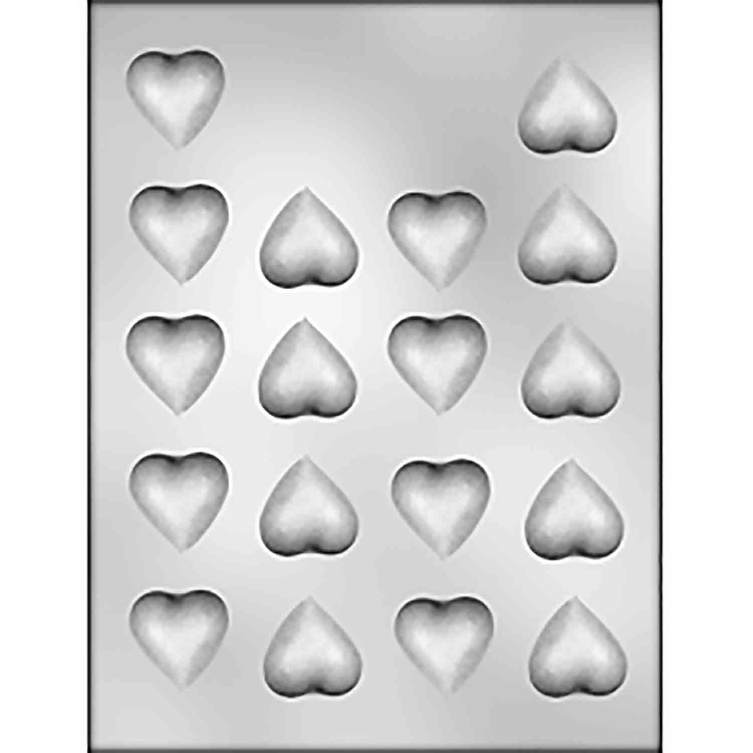 Small Plain Heart Chocolate Candy Mold