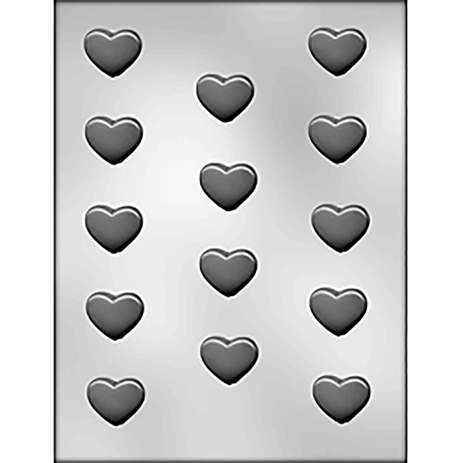 Plain Heart Chocolate Candy Mold