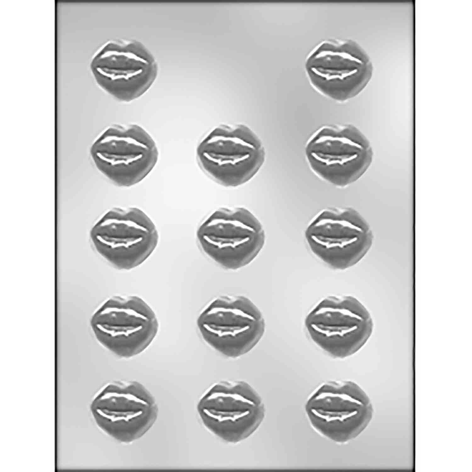 Smoochettes Kissing Lips Chocolate Candy Mold