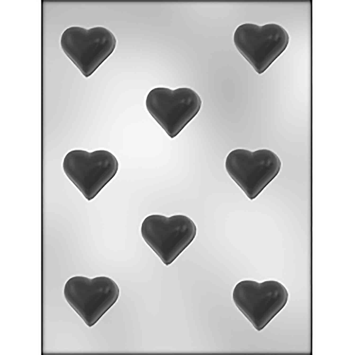 Deep Heart Bon Bon Chocolate Candy Mold