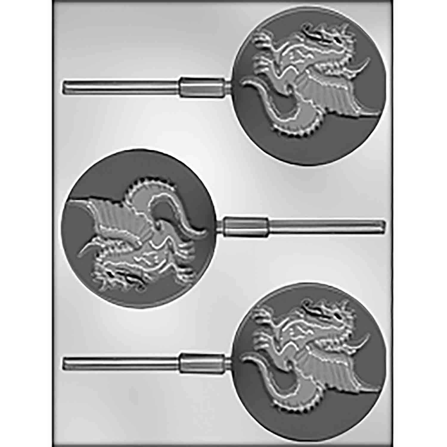 Dragon Sucker Chocolate Candy Mold