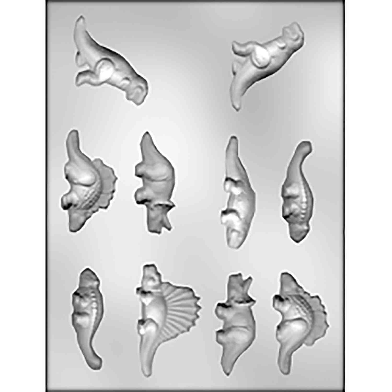 3D Dinosaurs Chocolate Candy Mold