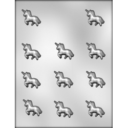 Unicorns Chocolate Candy Mold