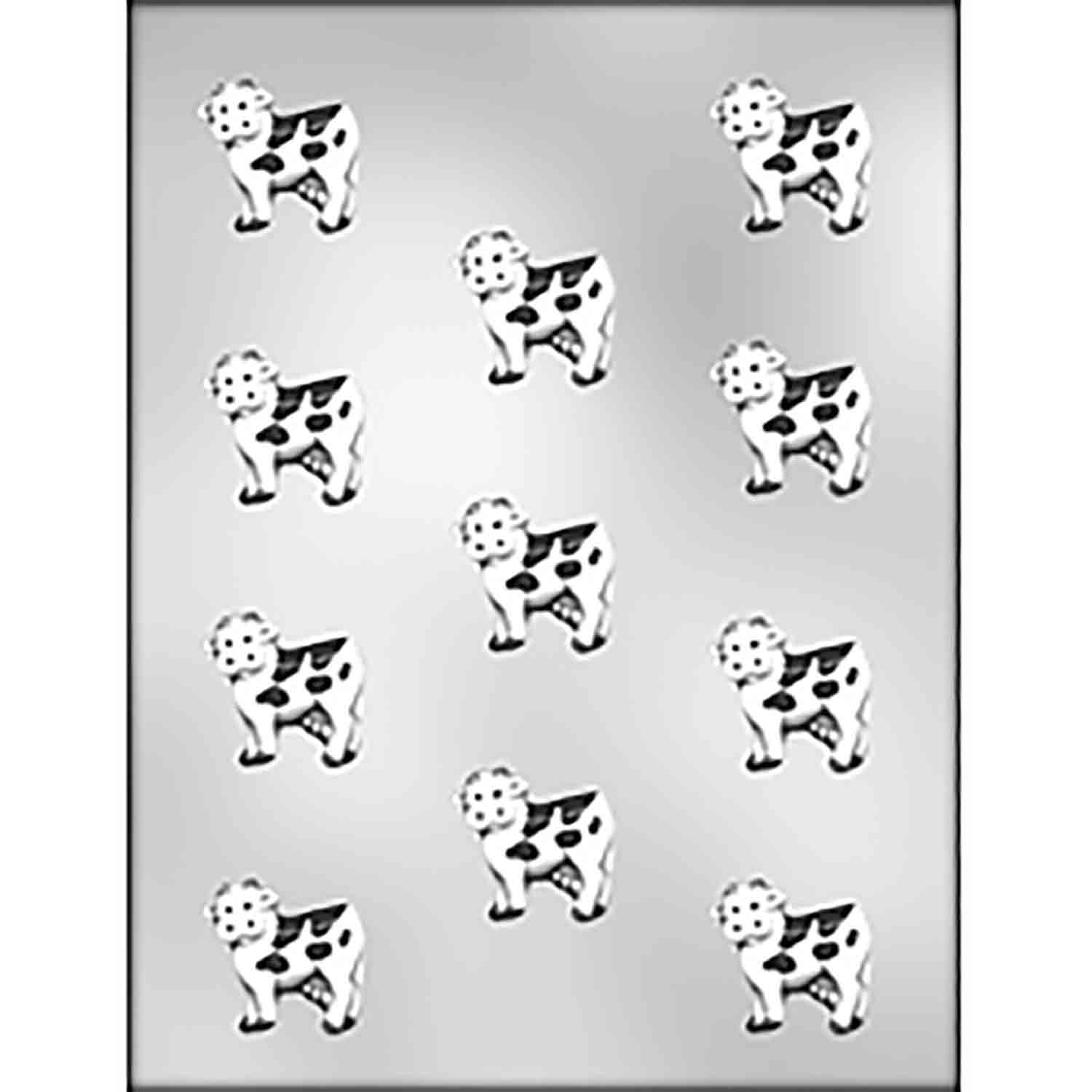Cows Chocolate Candy Mold