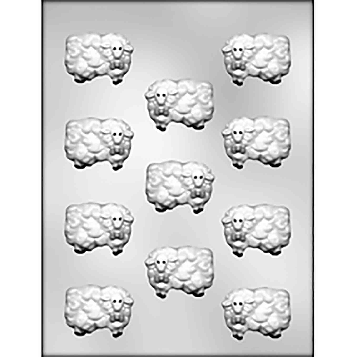 Woolly Sheep Chocolate Candy Mold