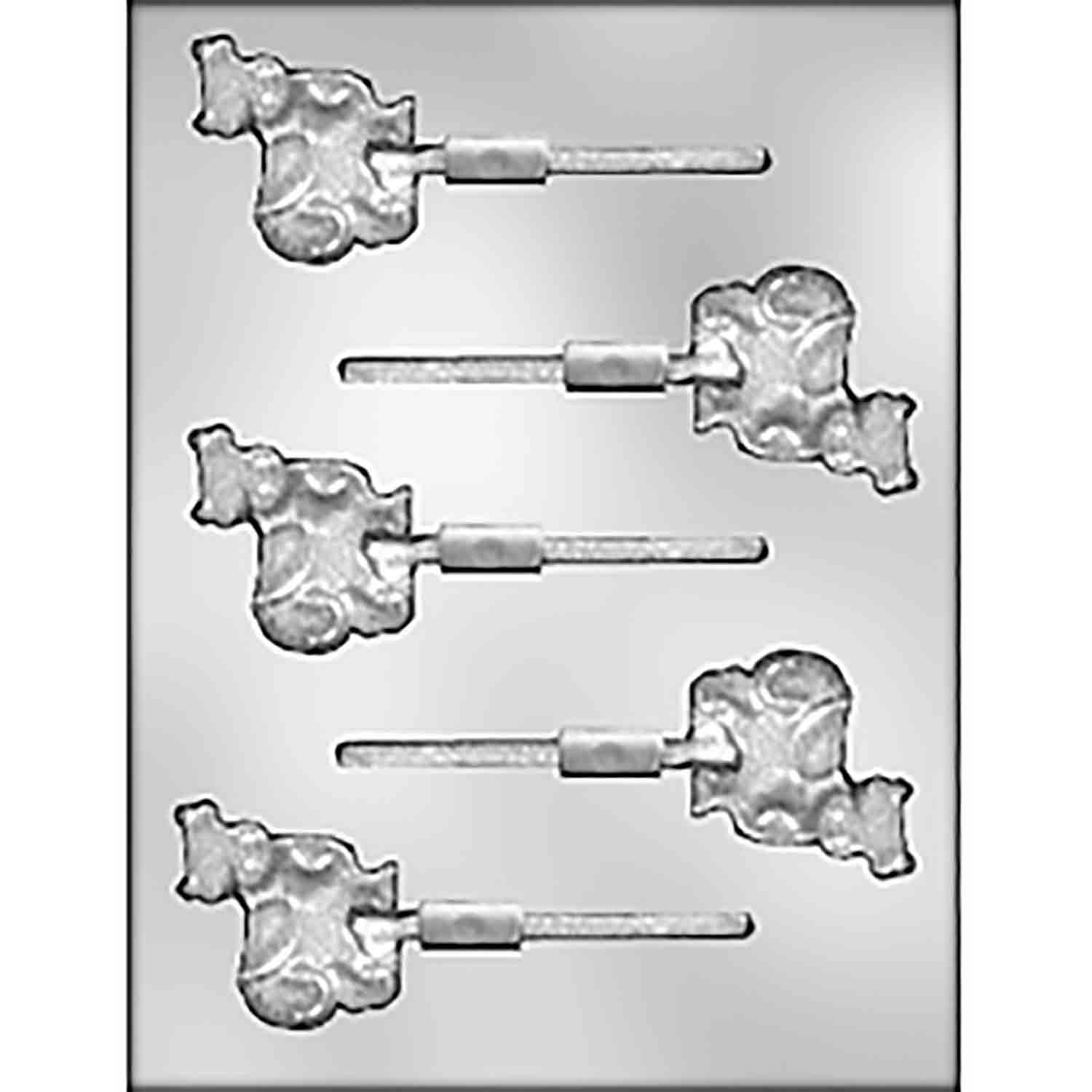 Cow Sucker Chocolate Candy Mold
