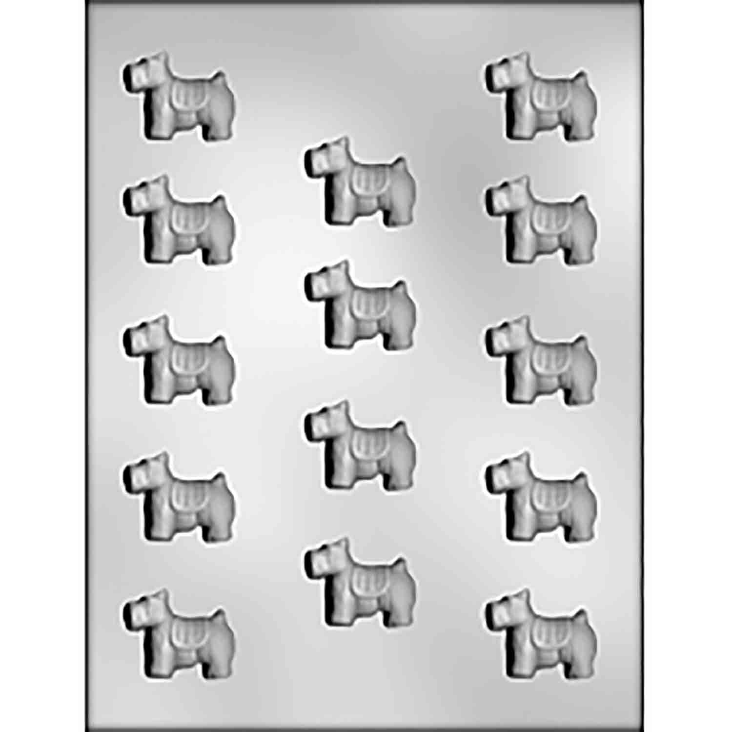 Dog Chocolate Candy Mold