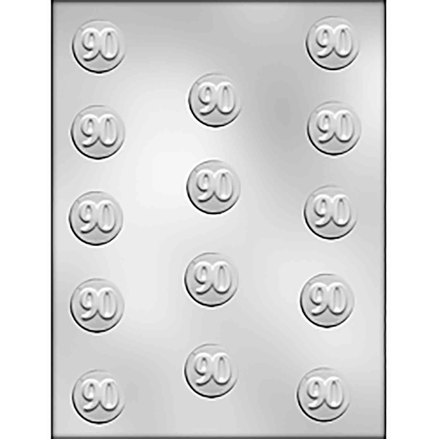 90 Mint Chocolate Candy Mold