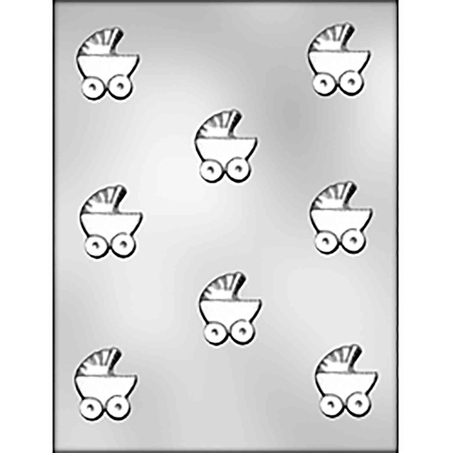 Baby Buggy Chocolate Candy Mold