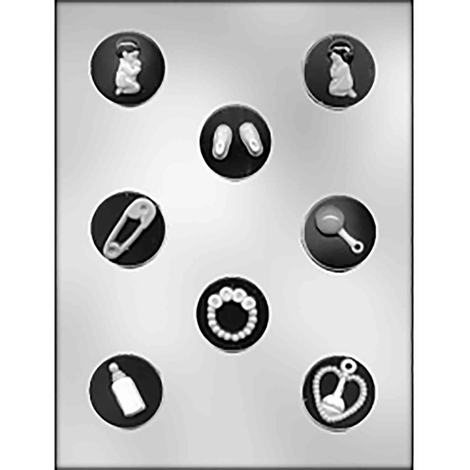 Baby Mint Assortment Chocolate Candy Mold