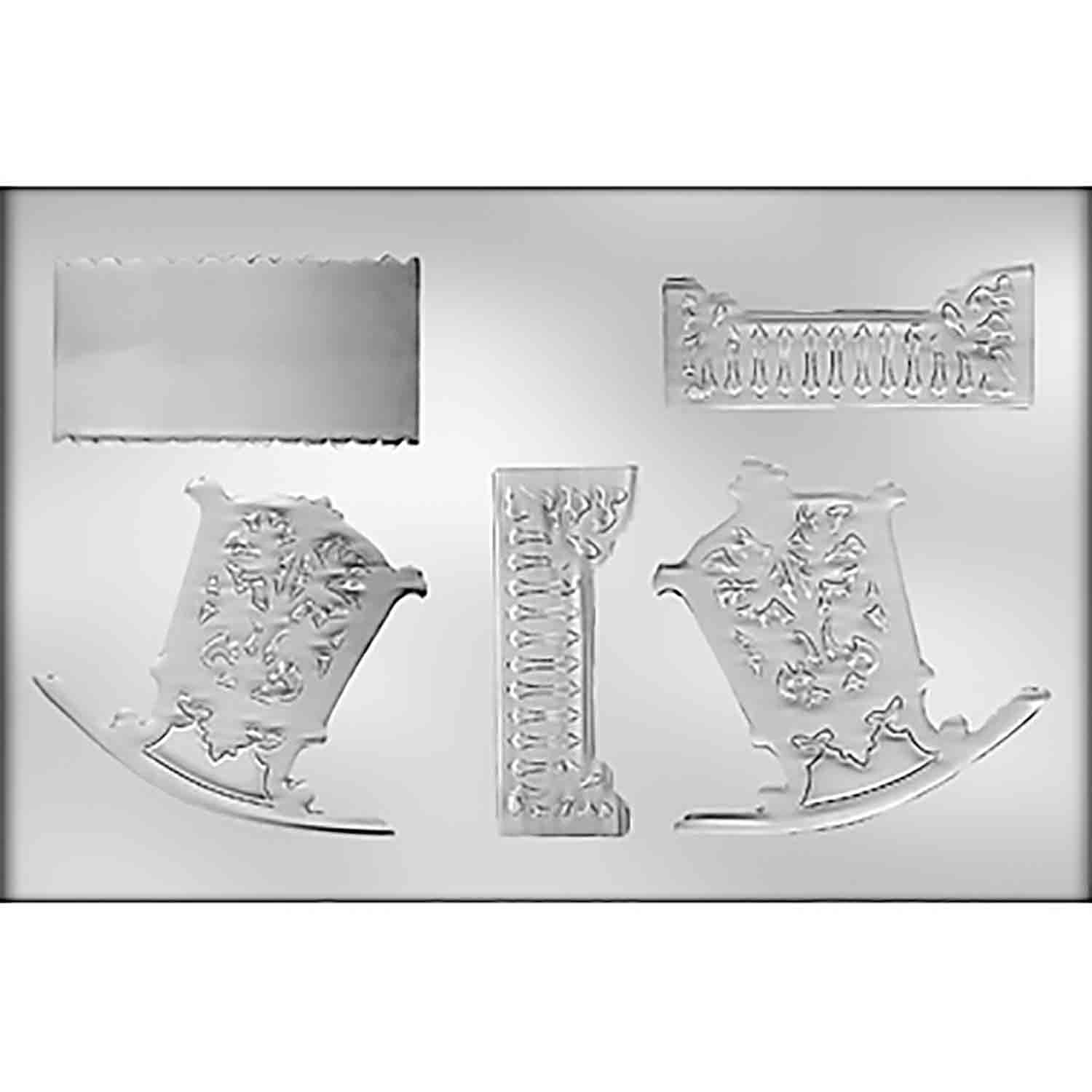 3D Cradle Chocolate Candy Mold