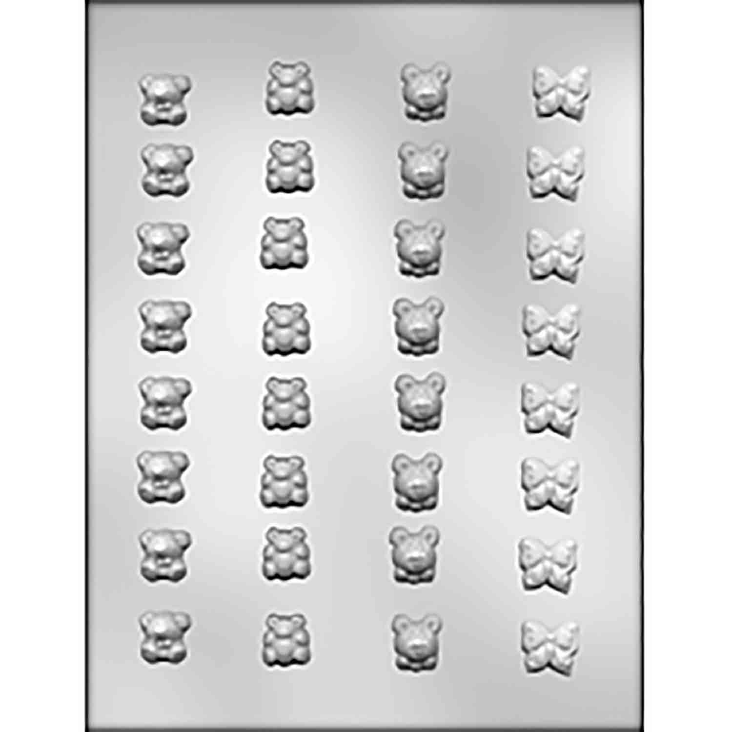 Bears & Butterflies Chocolate Candy Mold