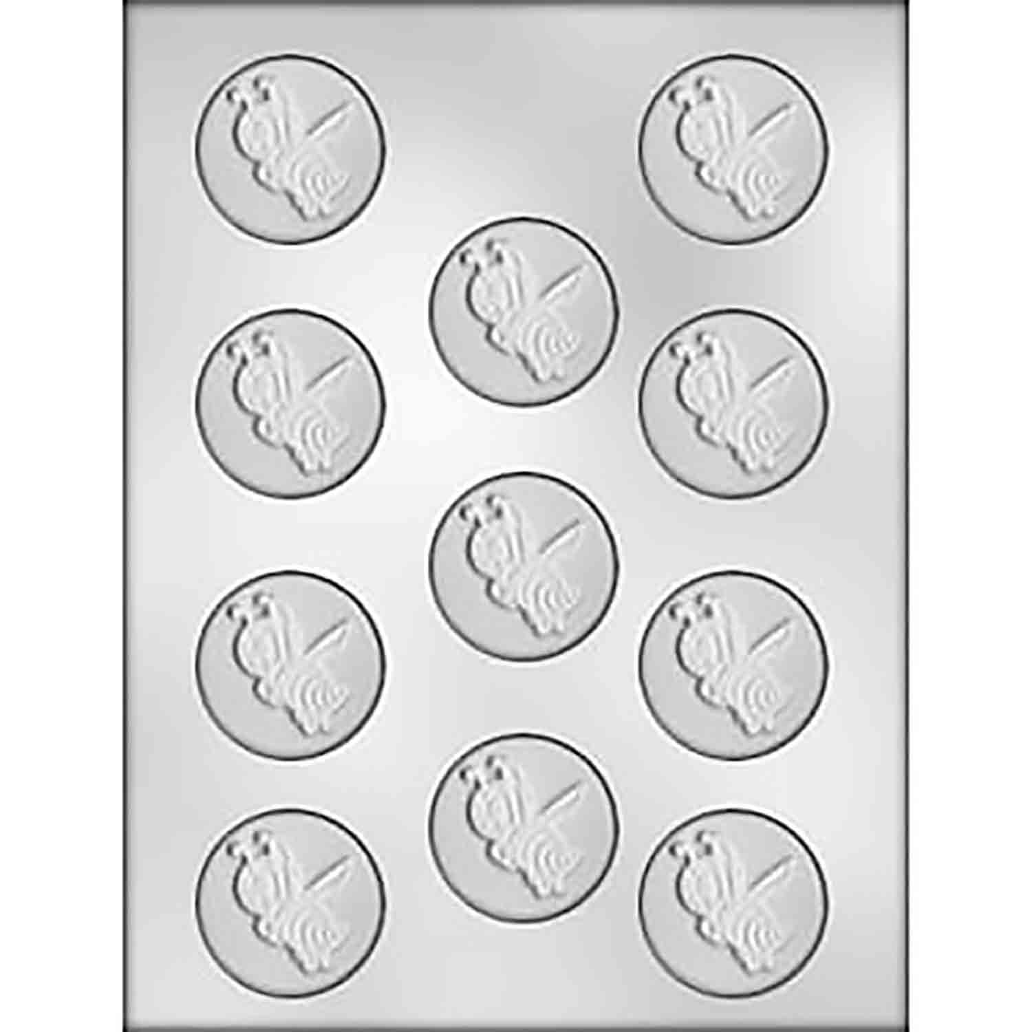 Bumblee Bee Mint Chocolate Candy Mold
