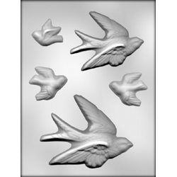 Flying Birds Chocolate Candy Mold