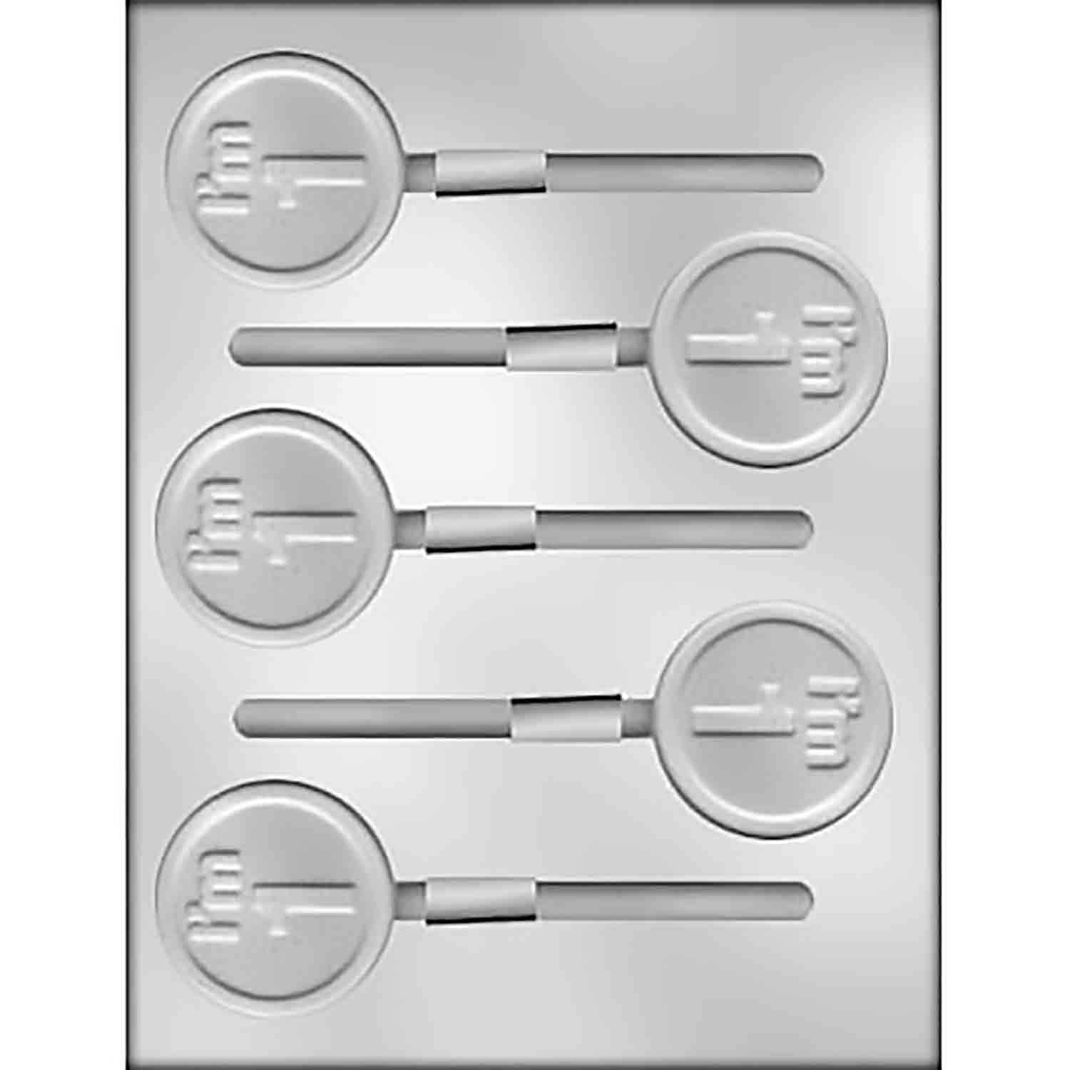 """I'm 1"" Sucker Chocolate Candy Mold"
