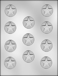 Eastern Star Mint Chocolate Candy Mold