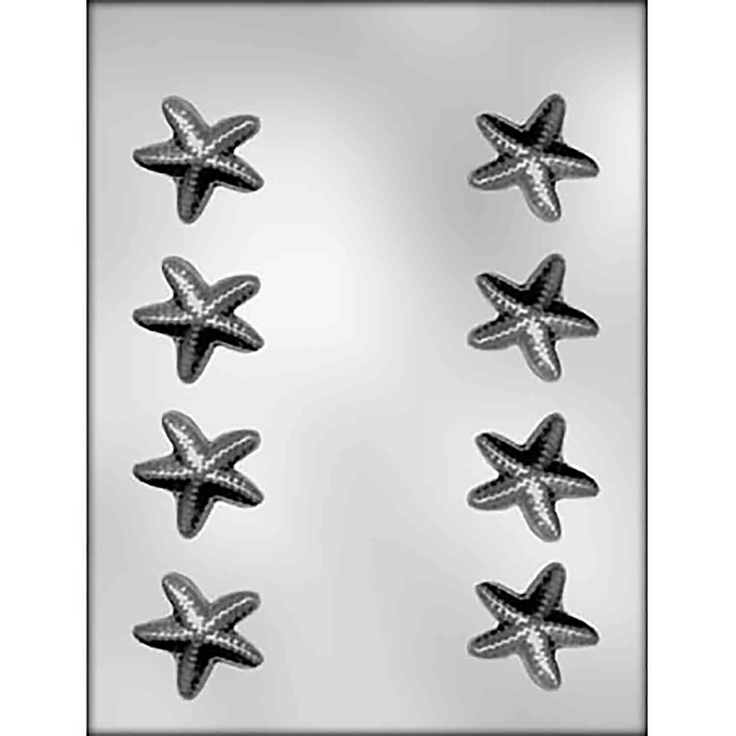 3D Starfish Chocolate Candy Mold