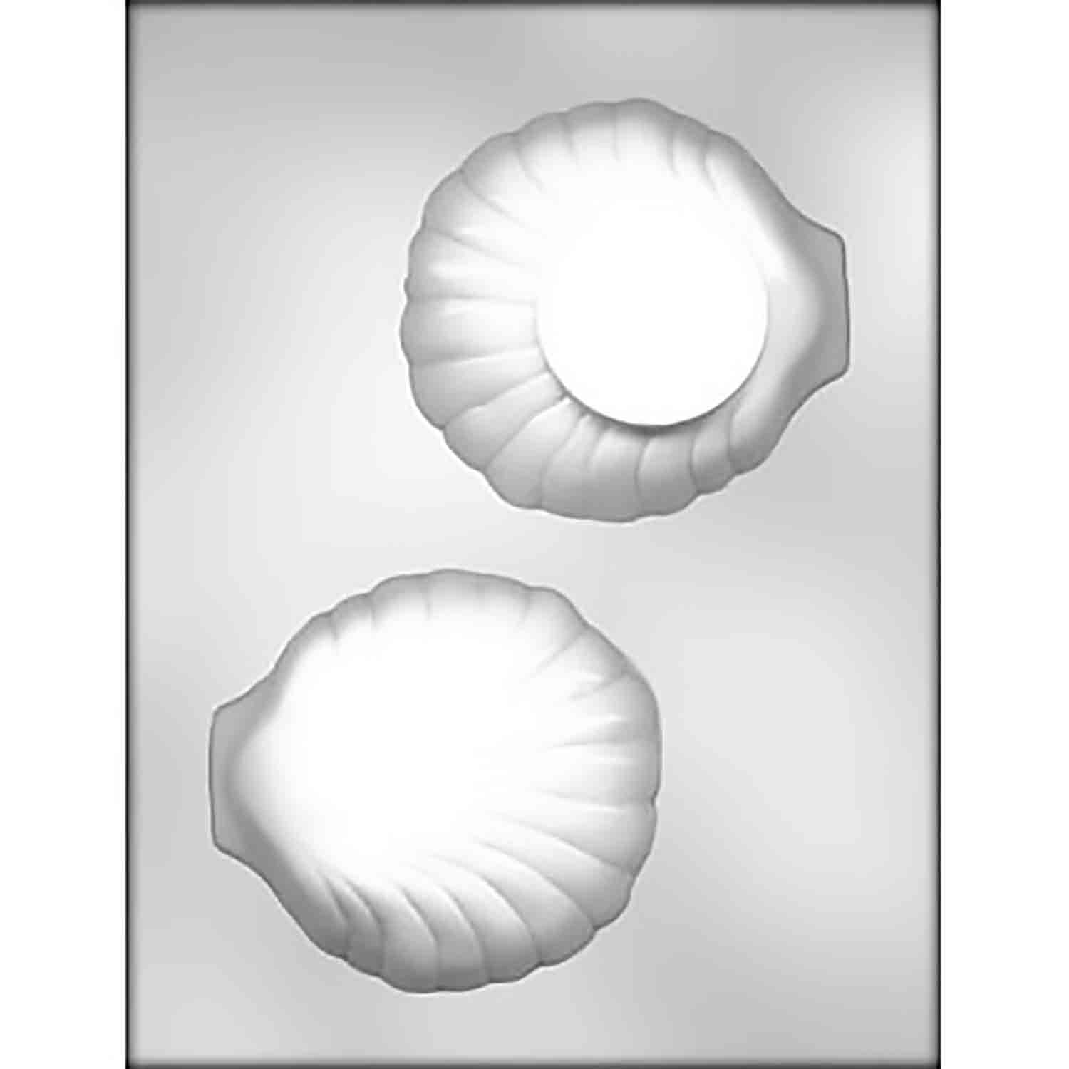 3D Dessert Clam Shell Box Chocolate Candy Mold