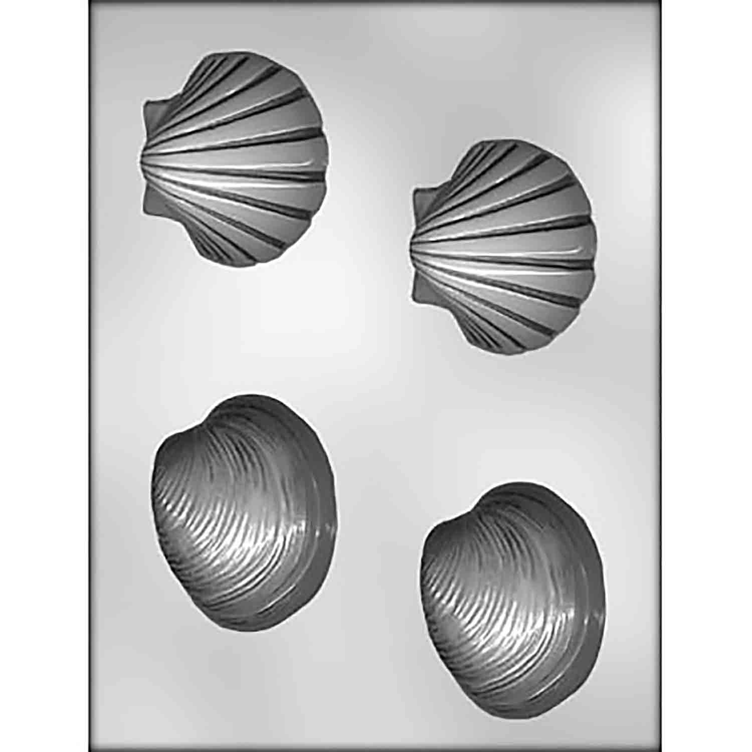 Shells Chocolate Candy Mold