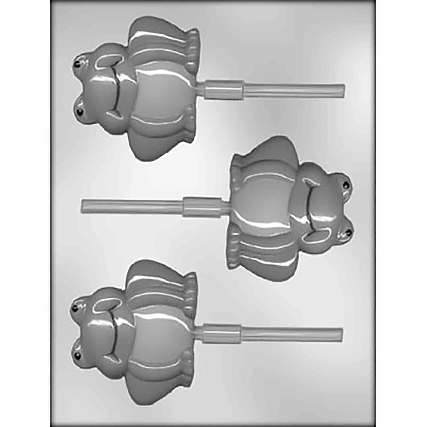 Frog Sucker Chocolate Candy Mold