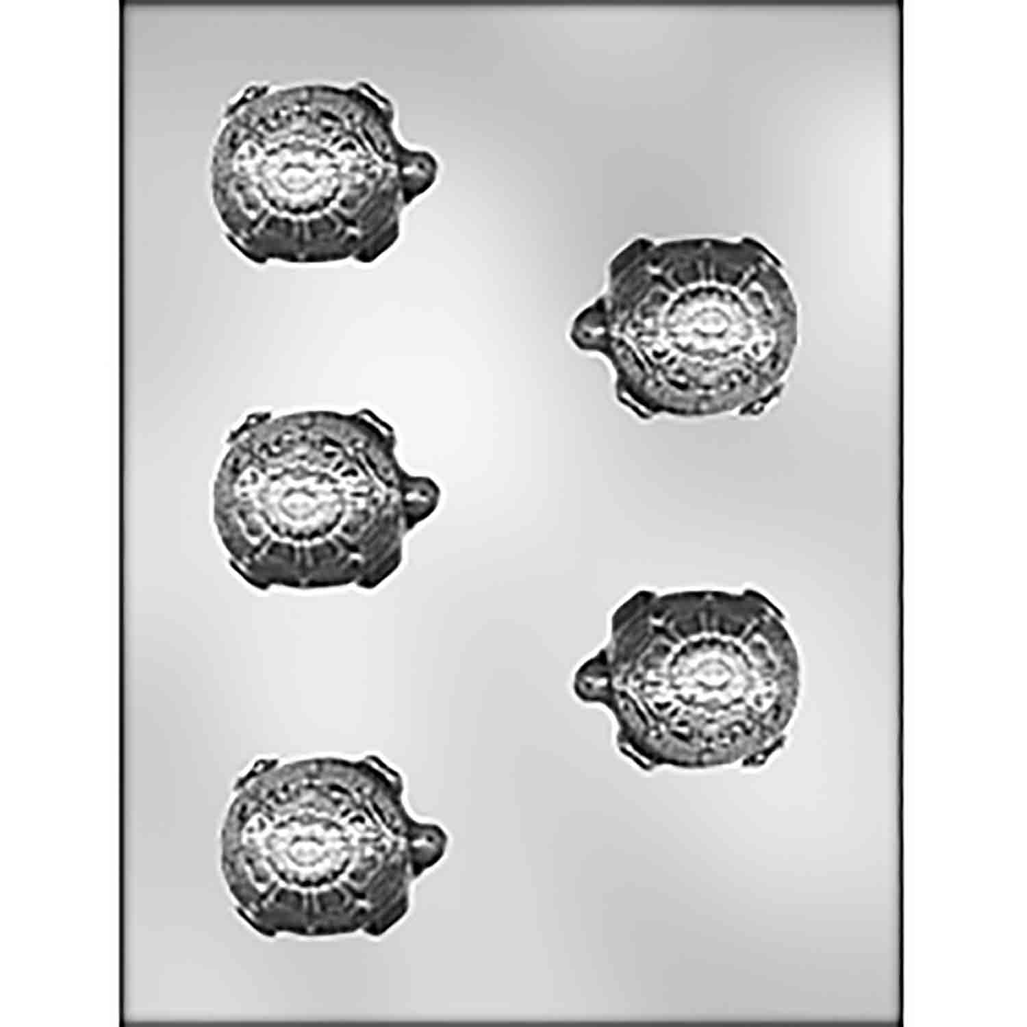 Elegant Turtle Chocolate Candy Mold